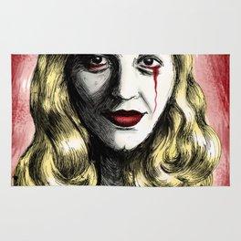 Sylvia Plath_Blood Red Rug