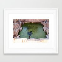 pool Framed Art Prints featuring Pool by Avigur