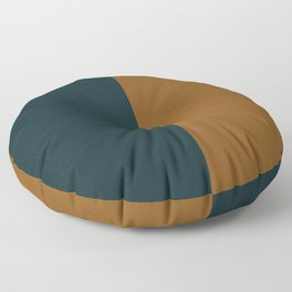 Mod Circle Abstract IV Floor Pillow