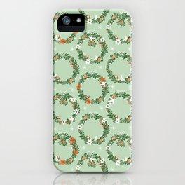 Christmas Wreath iPhone Case