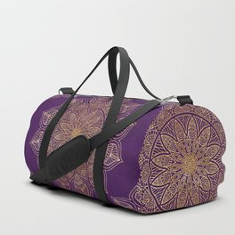 Gold Mandala Duffle Bag