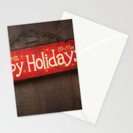 Holiday Christmas Stationery Cards