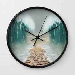 split sea Wall Clock