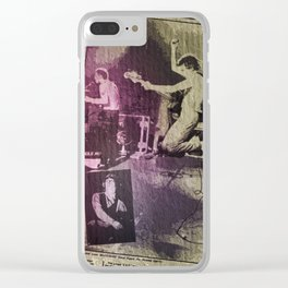 Big Buzz Bomb Band Clear iPhone Case