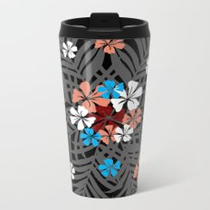 Flower 12 Metal Travel Mug
