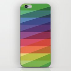 Fig. 040 Rainbow Stripes iPhone & iPod Skin