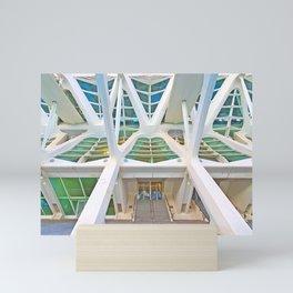 Concrete Structure Mini Art Print