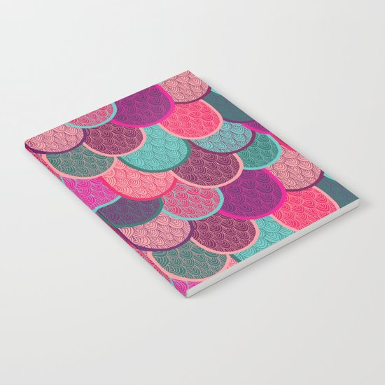 Fish Scales and Mermaid Tales Notebook