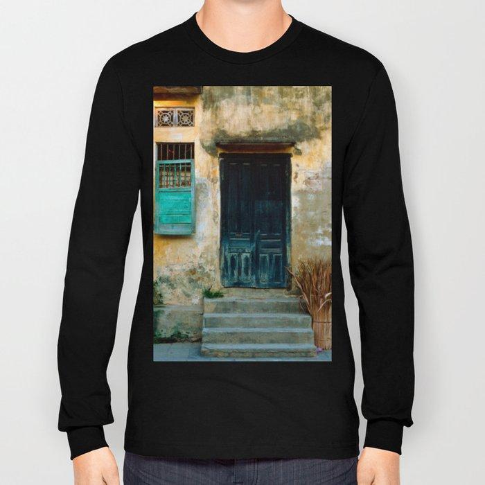 VIETNAMESE FACADE - HOI AN Long Sleeve T-shirt
