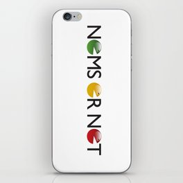 Nomsornot iPhone Skin