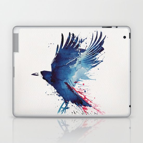 Bloody Crow Laptop & iPad Skin