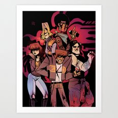 Bad Burners Art Print