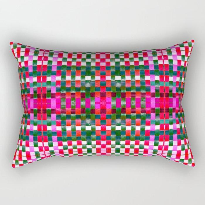 Calypso Tartan / Fresa Rectangular Pillow