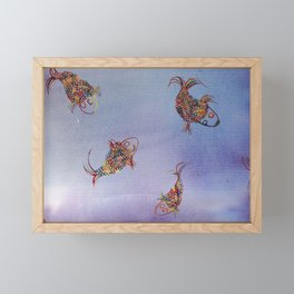 under water Framed Mini Art Print