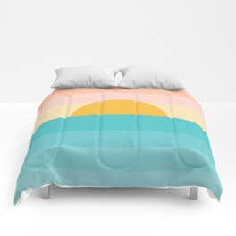 sunrise /sunset Comforters