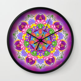 Strength in Surrender Wall Clock