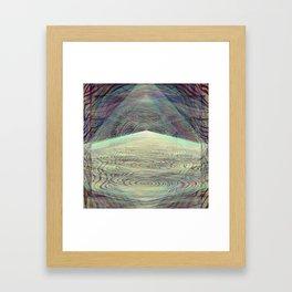 Crystallized Vibration Framed Art Print