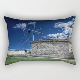 The Roundhouse Rectangular Pillow