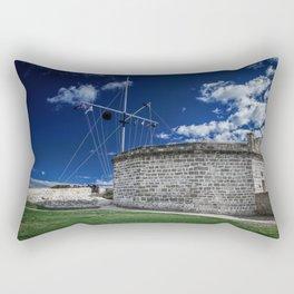 The Roundhouse Rectangular Pillow