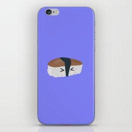 Sushi with rice and mushroom iPhone Skin