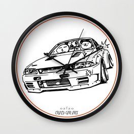 Crazy Car Art 0012 Wall Clock