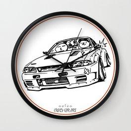 Crazy Car Art 0012 Wall Clock