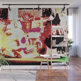 skull and jug Wall Mural