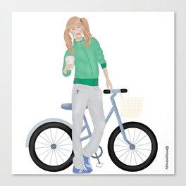 Fitness Freak Canvas Print