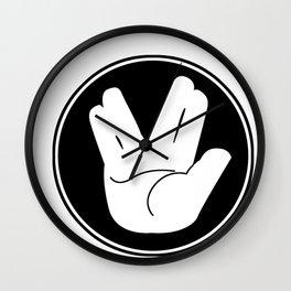 Star Trek Live Long and Prosper Hand sign Wall Clock
