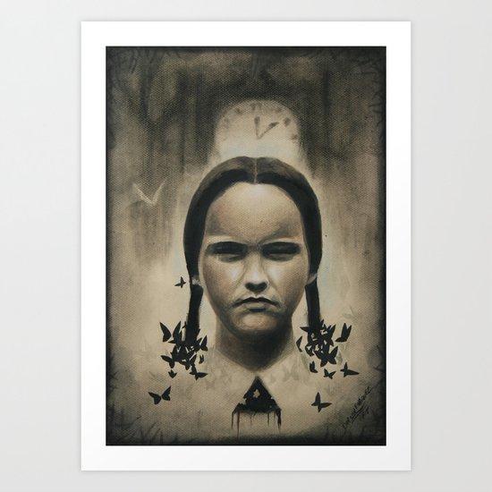 merlina adams Art Print