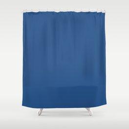 True Royal  Blue   Solid Colour Shower Curtain