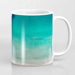 Aerial of Manhattan Beach pier Coffee Mug