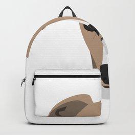 Greyhound dog Backpack