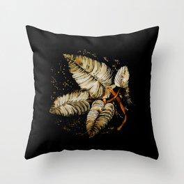 Hojarasca 1 Throw Pillow