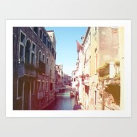 venice Art Prints featuring Venice by Frank Acklam