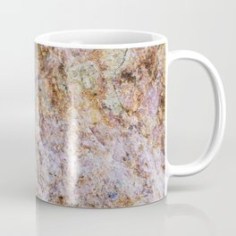 Abstract orange granite pattern Coffee Mug