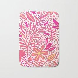 Garden – Pink Palette Bath Mat