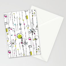 Quirky Icons Stationery Cards