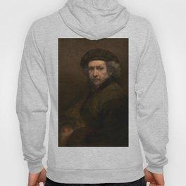 Rembrandt van Rijn Self-Portrait 1659 Painting Hoody