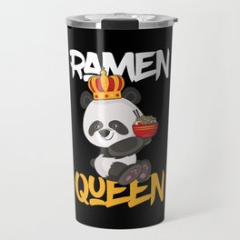 Ramen Queen Noodle Anime Mange Japanese  Soup Gift Travel Mug