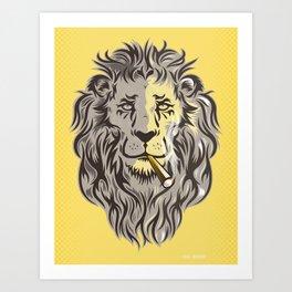 Mr. King Art Print