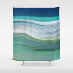 OCEAN ABSTRACT Shower Curtain