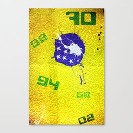 Brazil World Cup Canvas Print