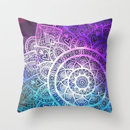 Space mandala 13 Throw Pillow