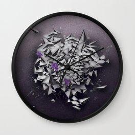 Alexandrites Wall Clock