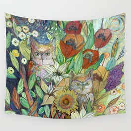 Returning Home to Roost Wall Tapestry