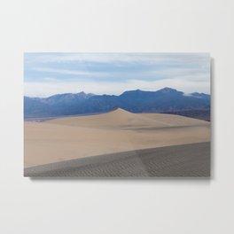 Mesquite Dunes Metal Print
