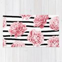 Simply Drawn Stripes and Roses by followmeinstead
