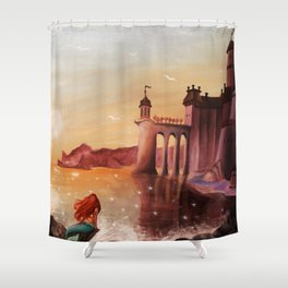 Part of Your World Shower Curtain