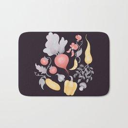 Vegetables (dark) Bath Mat